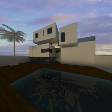 VISTA - piscina